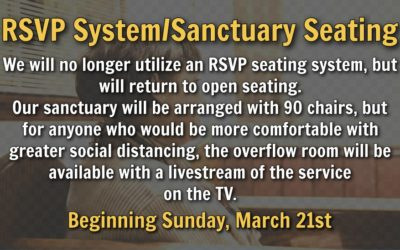 RSVP System – Sanctuary Seating